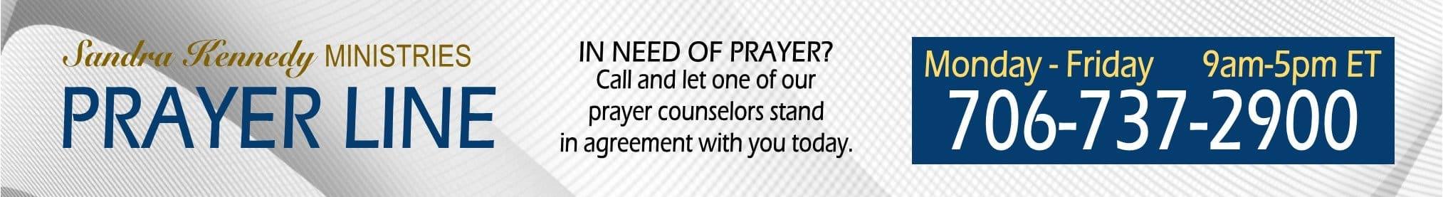 Prayer Line Banner SKM